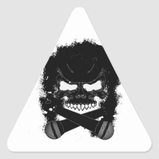 KaC Skull Triangle Sticker