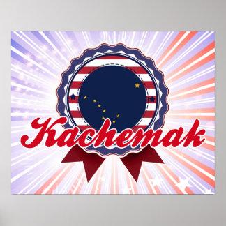 Kachemak, AK Poster
