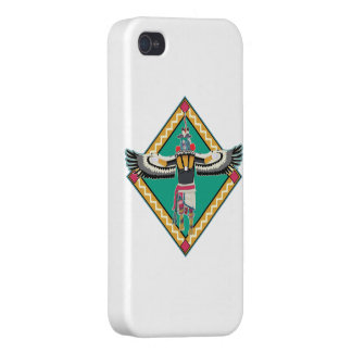 Kachina Dancer Covers For iPhone 4