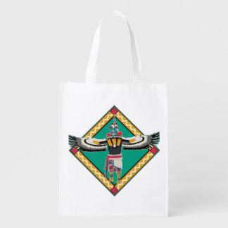 Kachina Dancer Reusable Grocery Bag