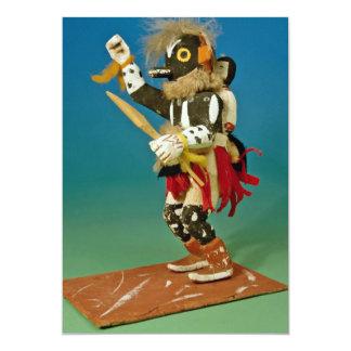 Kachina doll, Native American Card