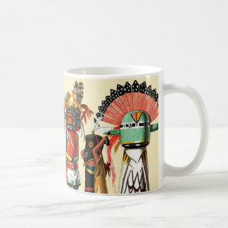Kachina dolls of the Hopi Native American Tribe Coffee Mugs