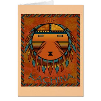 Kachina Greeting Card