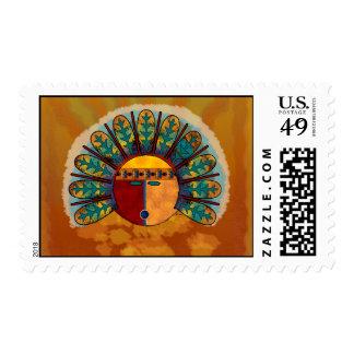 Kachina Mask Stamps