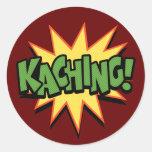 Kaching! Classic Round Sticker