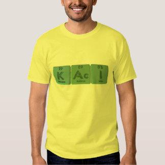 Kaci as Potassium Actinium Iodine T-Shirt