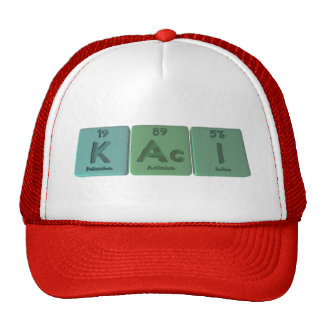 Kaci as Potassium Actinium Iodine Trucker Hat