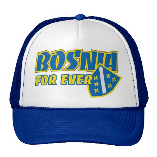 Kacket Bosnia para nunca Gorra