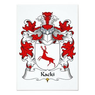 Kacki Family Crest Card