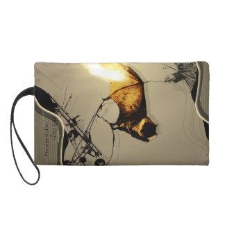 【KACUE.NET】08蝙蝠と電線灯 WRISTLET PURSES