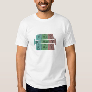 Kacy as Potassium Actinium Yttrium T-Shirt