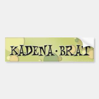 Kadena Brat Bumpersticker #1 Bumper Sticker