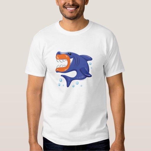 Kaf the Shark, Hebrew Aleph Bet (Alphabet) T-Shirt