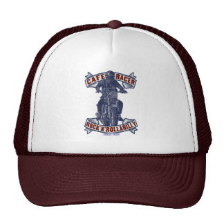 Kaff racer trucker hat