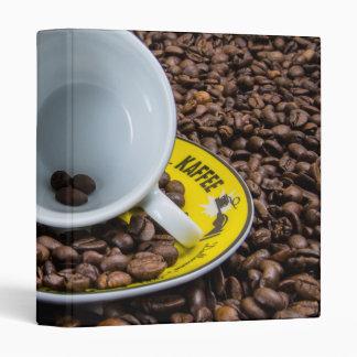 Kaffee Beans Vinyl Binder
