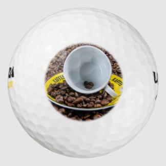 Kaffee Beans Pack Of Golf Balls