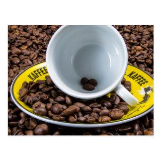 Kaffee Beans Postcard