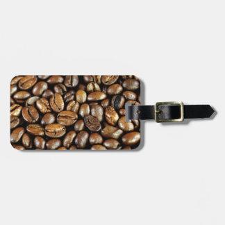 Kaffeebohnen Etiqueta Para Equipaje