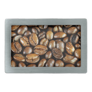 Kaffeebohnen Hebilla Cinturon Rectangular