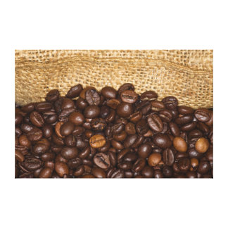 Kaffeebohnen Lona Envuelta Para Galerías