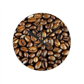 Kaffeebohnen Reloj
