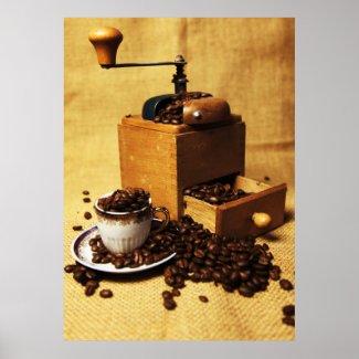 Kaffeemühle Print