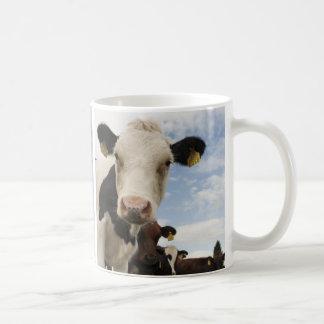 Kaffeetasse con vaca fotografía taza clásica