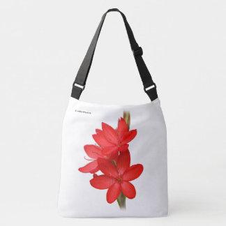 Kaffir Lily / River Lily / Hesperantha Coccinea Crossbody Bag