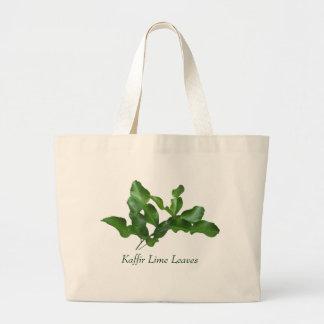 Kaffir Lime Leaves Large Tote Bag