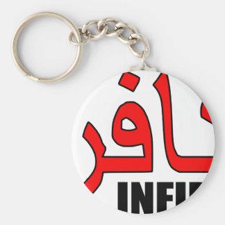 Kafir / Infidel Merchandise Basic Round Button Keychain