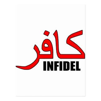 Kafir / Infidel Merchandise Postcard