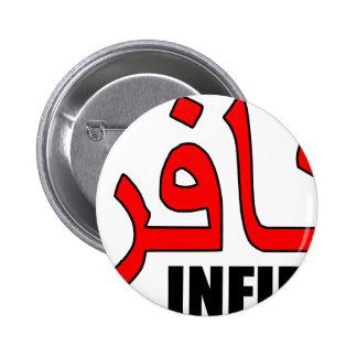 Kafir/mercancía infiel pins