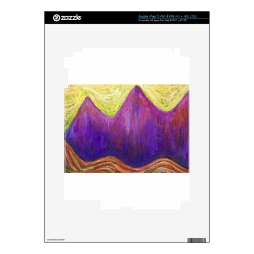 Kafka the Castle (expressionism cityscape) Skins For iPad 3