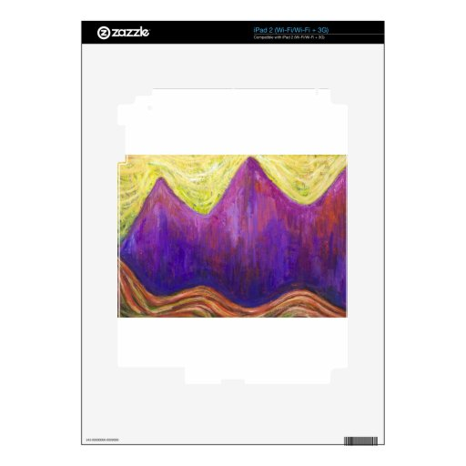 Kafka the Castle (expressionism cityscape) Decal For iPad 2