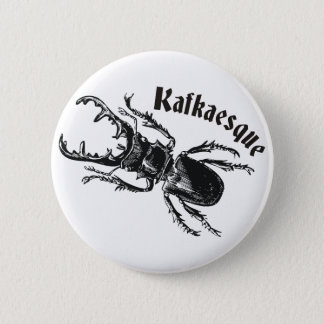 Kafkaesque Pinback Button