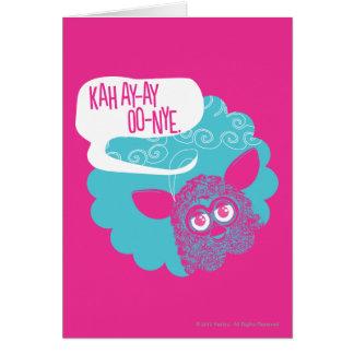 KAH AY-AY OO-NYE CARD