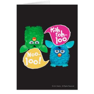 KAH TOH-LOO CARD