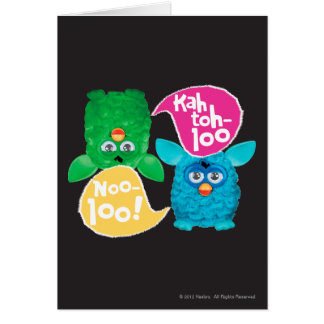 KAH TOH-LOO GREETING CARD