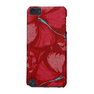 Kahala Hibiscus Hawaiian Lava Rock Illustration iPod Touch 5G Case