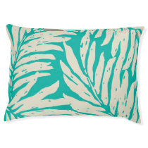 Kahanu Garden Hawaiian Palm Leaves Pet Bed