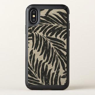 Kahanu Palms Hawaiian Faux Linen Texture Speck iPhone X Case