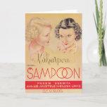 Kaharpea (Curly Hair) Shampoo Holiday Card