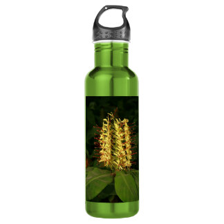 Kahili ginger stainless steel water bottle