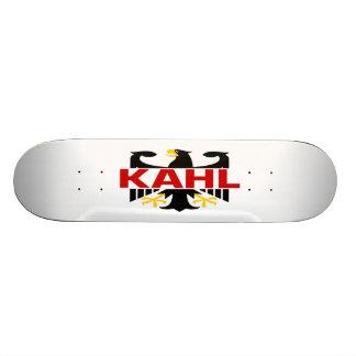 Kahl Surname Custom Skateboard