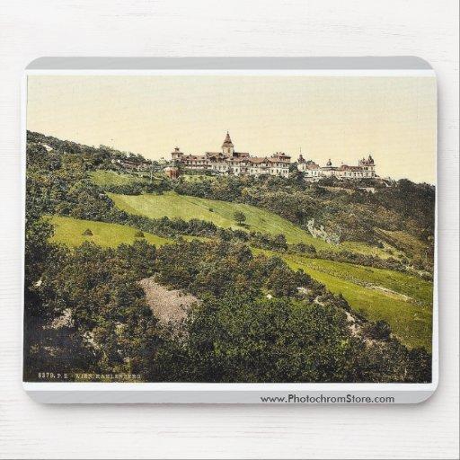 Kahlenberg, Vienna, Austro-Hungary classic Photoch Mousepads