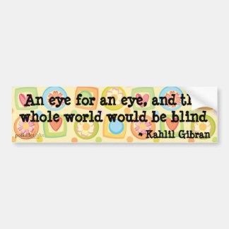 Kahlil Gibran Forgiveness Sticker