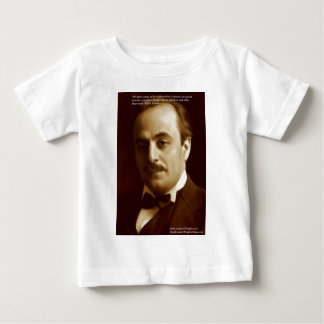 """Kahlil Gibran """"Wisdom Proud"""" Quote Gifts & Cards Baby T-Shirt"""