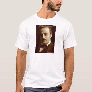 """Kahlil Gibran """"Wisdom Proud"""" Quote Gifts & Cards T-Shirt"""
