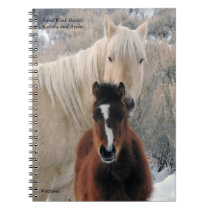 Kahlua and Avocet from Sand Wash Basin Notebook