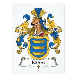 Kahne Family Crest Card